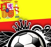 Soccer Fan Spain Sticker