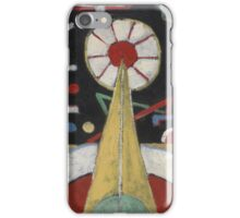Marsden Hartley - Berlin Series No. 1. Abstract painting: abstract art, geometric, expressionism, composition, lines, forms, creative fusion, spot, shape, illusion, fantasy future iPhone Case/Skin