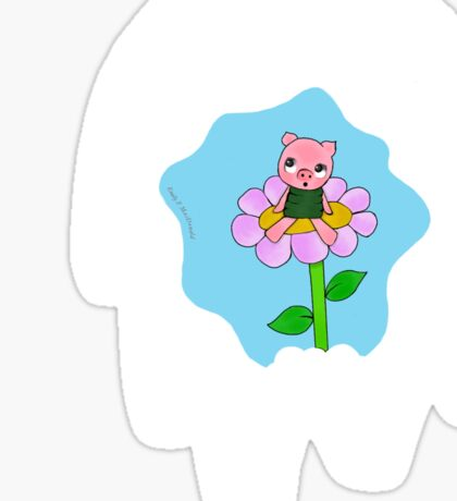 Winnie The Pooh- Piglet design Sticker