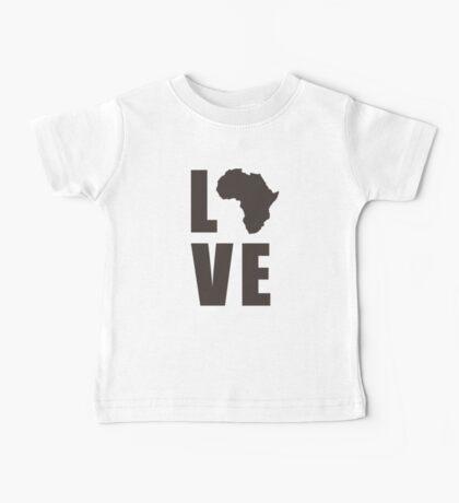 Love Africa Baby Tee