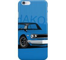 Hakosuka Gtr Skyline iPhone Case/Skin