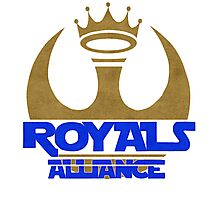 ROYALS ALLIANCE BLUE!! Photographic Print