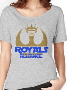 ROYALS ALLIANCE BLUE!! Women's Relaxed Fit T-Shirt
