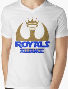 ROYALS ALLIANCE BLUE!! Mens V-Neck T-Shirt