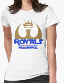 ROYALS ALLIANCE BLUE!! Womens Fitted T-Shirt