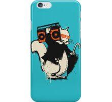 Boombox squirrel iPhone Case/Skin