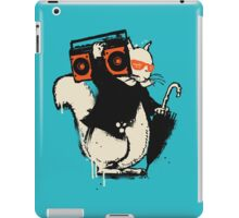 Boombox squirrel iPad Case/Skin