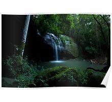Buderim Rainforest Waterfall 2 Poster