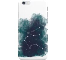 Watercolour Zodiac - Aquarius iPhone Case/Skin