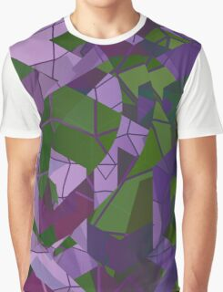 Psychedelic Geometric Pattern  Graphic T-Shirt