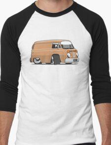 VW T2 van cartoon brown Men's Baseball ¾ T-Shirt