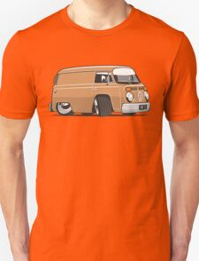 VW T2 van cartoon brown Unisex T-Shirt