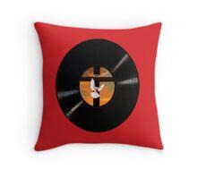 JESUS BECAUSE HE LIVES RECORD THROW PILLOW Throw Pillow