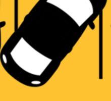 Parking Sticker Award - For TURDS - Parking Sticker Sticker