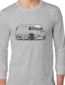 VW T2 van cartoon grey Long Sleeve T-Shirt