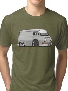 VW T2 van cartoon grey Tri-blend T-Shirt