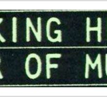 Talking Heads - Fear of Music Sticker