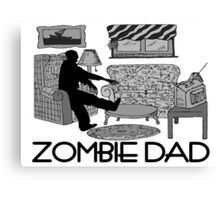 Zombie Dad Canvas Print