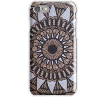 Tri-Color Mandala iPhone Case/Skin
