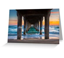 Under the Pier Greeting Card