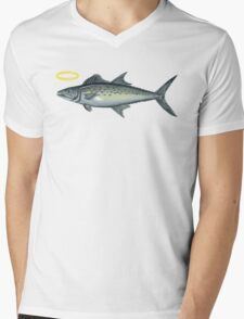 Holy Mackerel Mens V-Neck T-Shirt