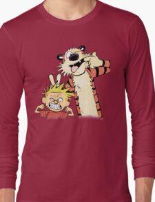 Calvin & Hobbes : Blah Blah Blah Long Sleeve T-Shirt