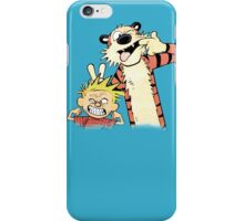Calvin & Hobbes : Blah Blah Blah iPhone Case/Skin