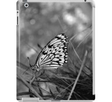 Gray in the reeds iPad Case/Skin