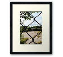 Abandoned Textile Mill Framed Print