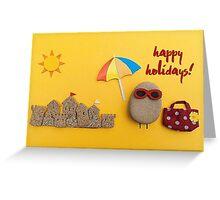 Happy Holidays - Summer 02 Greeting Card