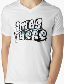 I was here street art - Switched at Birth Mens V-Neck T-Shirt