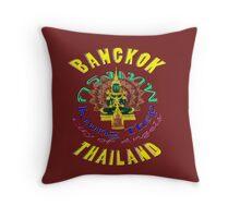 Krung Thep or Bangkok Throw Pillow