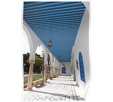 Verandah of a Tunisian Palace Poster