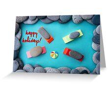 Happy Holidays - Summer 03 Greeting Card