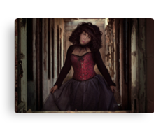 The abandoned doll Canvas Print