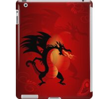 Funny dragon iPad Case/Skin