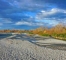 Rangitata River by Harry Oldmeadow