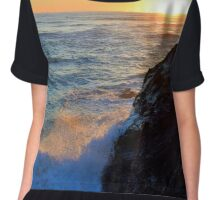 cornish sunset Chiffon Top