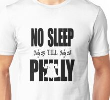 NO SLEEP TILL PHILLY Unisex T-Shirt