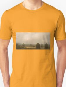 Martin Johnson Heade - The Great Swamp 1868. Field landscape: field landscape, nature, village, garden, flowers, trees, sun, rustic, countryside, sky and clouds, summer Unisex T-Shirt