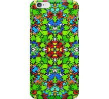 3D COLLIDE-O-SCOPE LEAFY MADNESS! iPhone Case/Skin