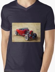 Number 32 Mens V-Neck T-Shirt