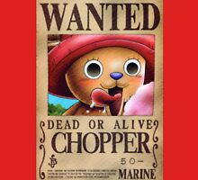 Chopper Wanted Poster Unisex T-Shirt