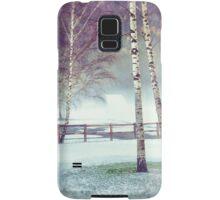 Two birches Samsung Galaxy Case/Skin
