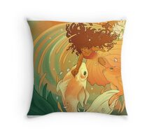 Harmony Through Reciprocity  Throw Pillow
