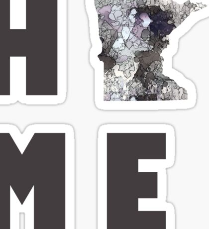 "Minnesota ""HOME"" Sticker"