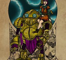 Lucca and Robo, Prints by Nocturnarwhal
