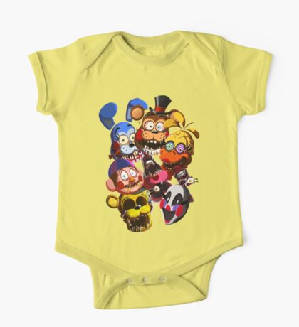 THE NEW FACES OF FUN!! One Piece - Short Sleeve