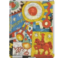Marsden Hartley - Himmel. Abstract painting: abstract art, geometric, expressionism, composition, lines, forms, creative fusion, spot, shape, illusion, fantasy future iPad Case/Skin