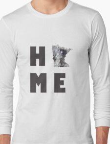 "Minnesota ""HOME"" Long Sleeve T-Shirt"